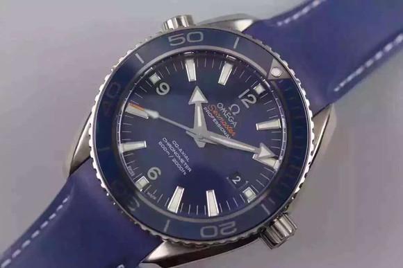 欧米茄海洋宇宙 海马600米陶瓷圈口8500自动机械机芯机械男士手表
