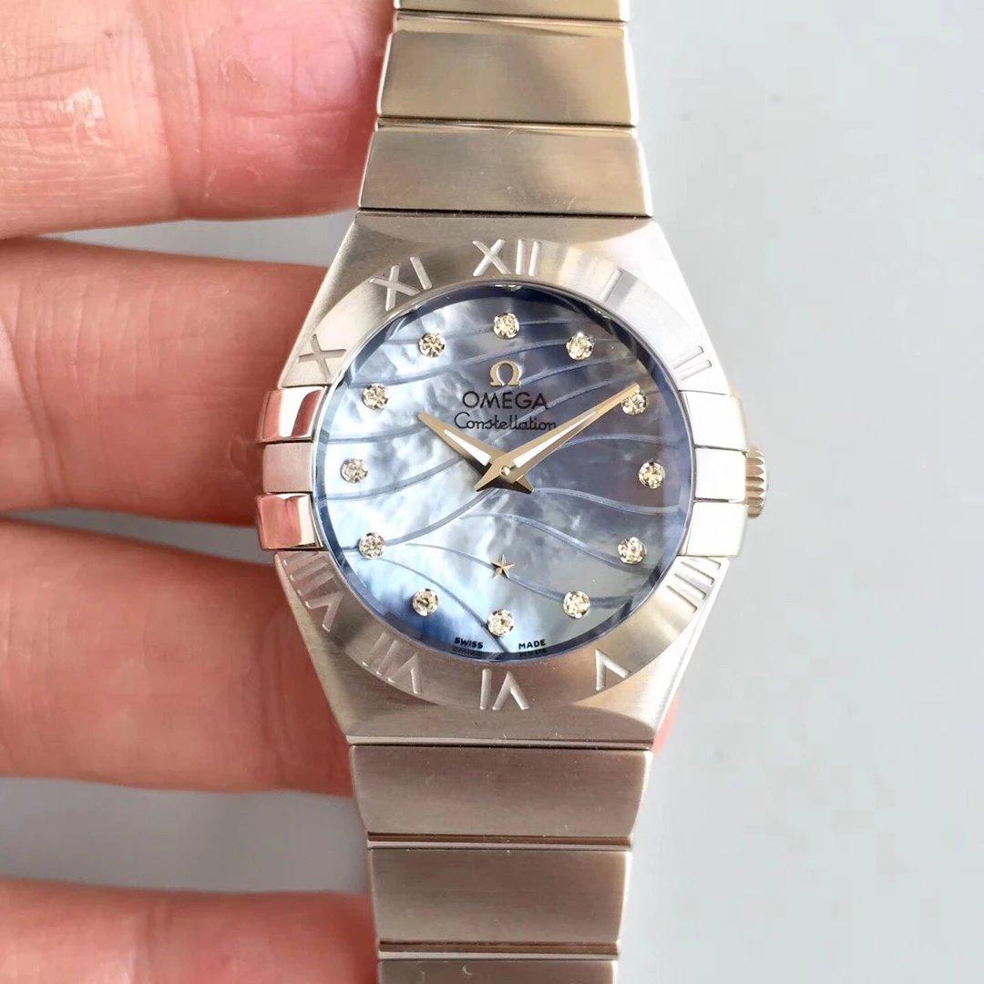 SSS厂欧米茄星座系列27毫米石英腕表 非常不错的一款女表