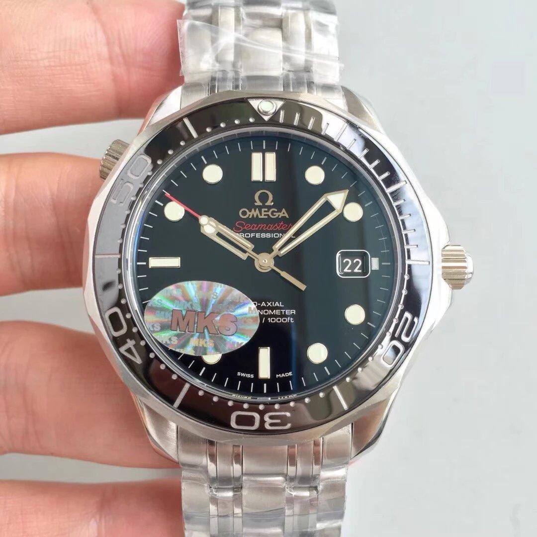 MKS经典名品---欧米茄海马300米系列腕表 自动上旋机芯 男士腕表