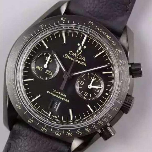 欧米茄 超霸系列 月之暗面 新面  陶瓷圈口机芯为9300全自动机械机芯机械男士手表