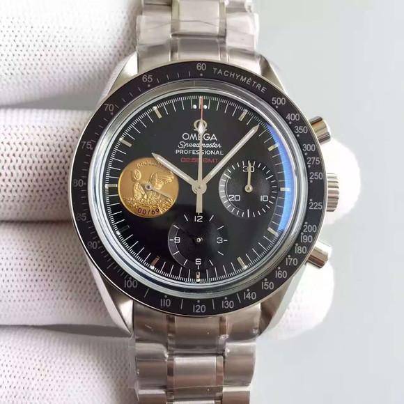 欧米茄超霸登月限量版手动7750机械机芯男士手表
