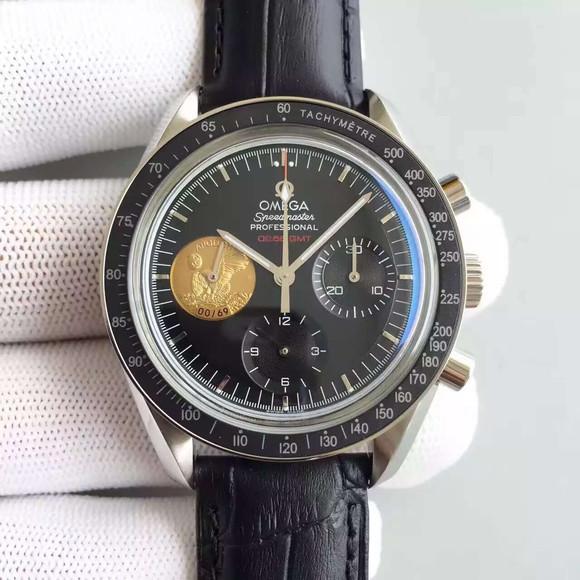 欧米茄超霸登月限量版手动7750机械机芯机械男士手表