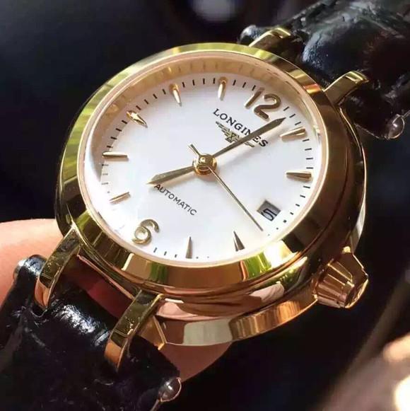 浪琴优雅心月系列L8.111.4.71.6 女士手表