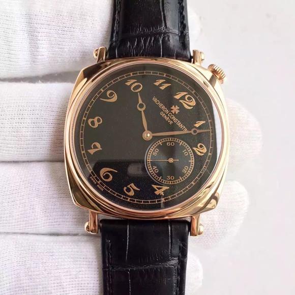 江诗丹顿历史名作82035/000R-9359复刻原版Cal.4400AS手动机械机芯男士手表