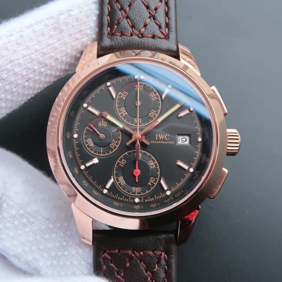 万国工程师系列W380702玫瑰金计时腕表
