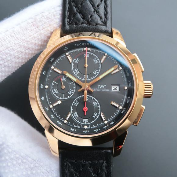 万国工程师系列W380702黄金计时机械男士腕表