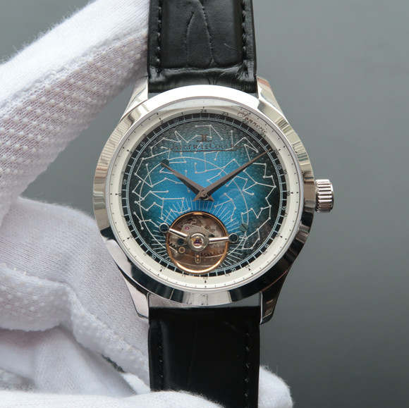 积家大师系列轨道陀飞轮腕表 个性陀飞轮手表