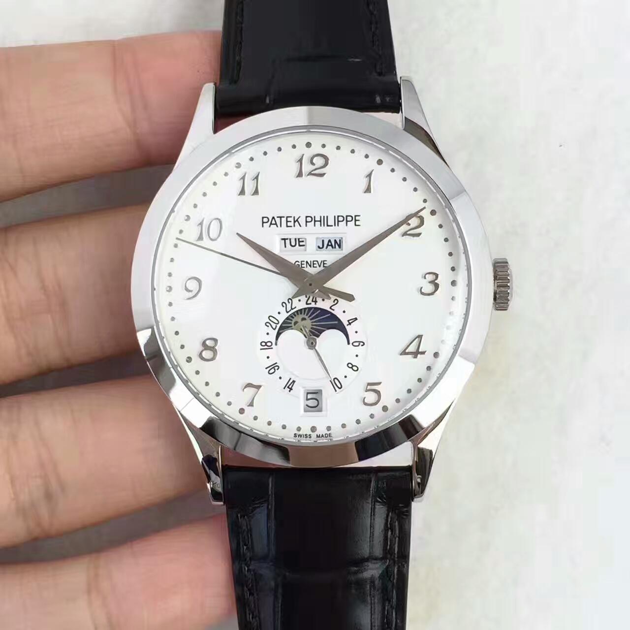 一比一复刻高仿百达翡丽复杂功能计时系列5396R-012机械腕表