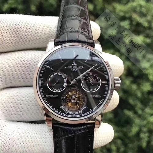 瑞士名表积家全自动日月星辰陀飞轮机芯手表