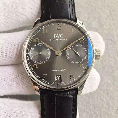 zf厂v4复刻万国葡七灰面款手表 完美无缝