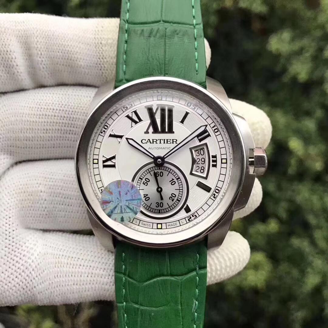 JF厂卡地亚卡历博系列经典款 自动机械男士手表