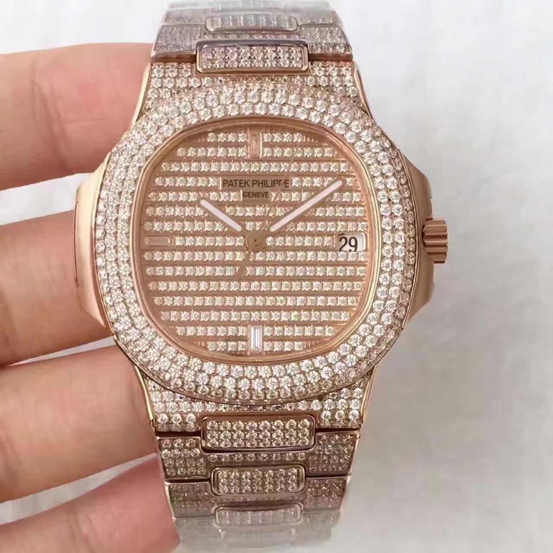 百达翡丽运动系列5719/1G-001男士机械满天星手表 高仿复刻手表