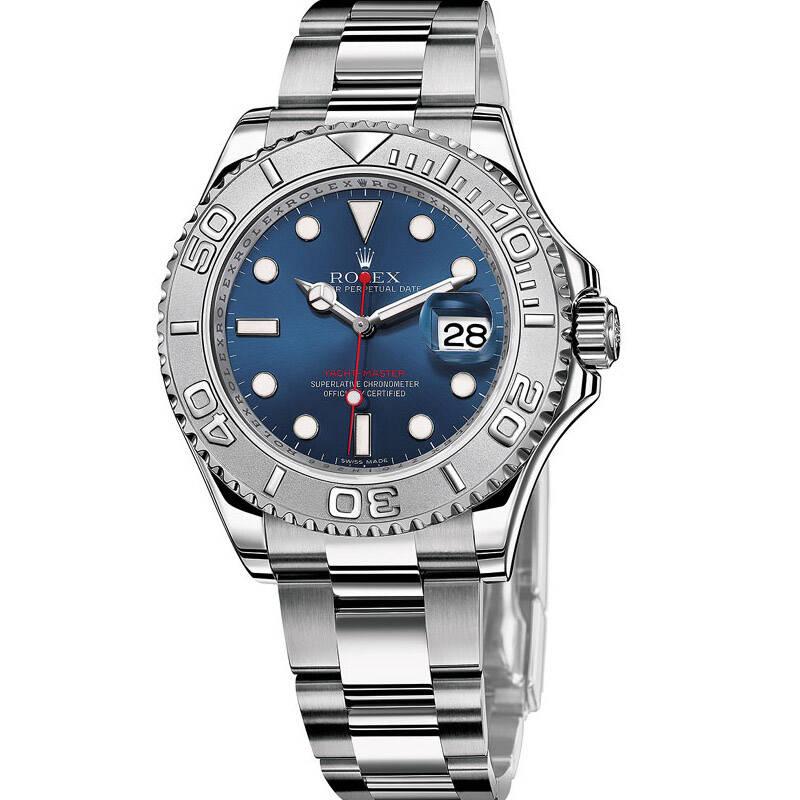 EW厂复刻劳力士游艇名仕系列116622钢带男士手表(蓝面)