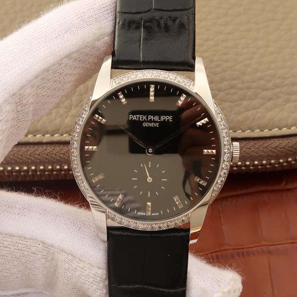 百达翡丽古典表系7122R-001 1:1复刻原装正品手表 手动机械