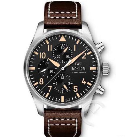 ZF厂万国飞行员计时码表澳大利亚特别限量版 男士计时机械表