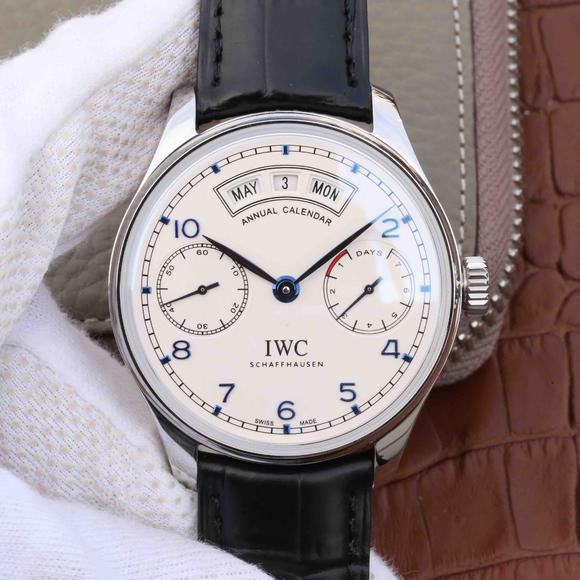 YL厂万国葡萄牙系列IW503501蓝丁版男士腕表