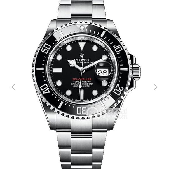 AR厂劳力士海使型126600(新小鬼王)男士机械手表