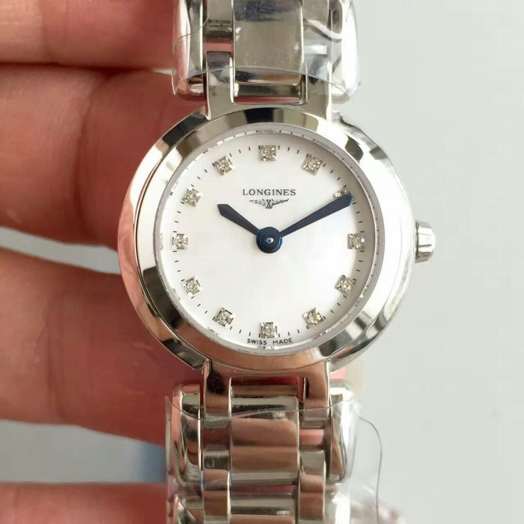 KZ工厂最强复刻浪琴心月系列石英女士手表
