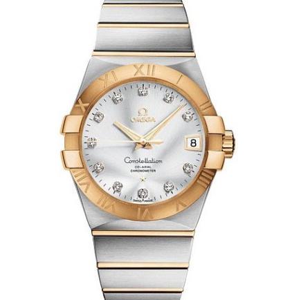 V6欧米茄星座系列123.20.38.21.52.002机械男士手表