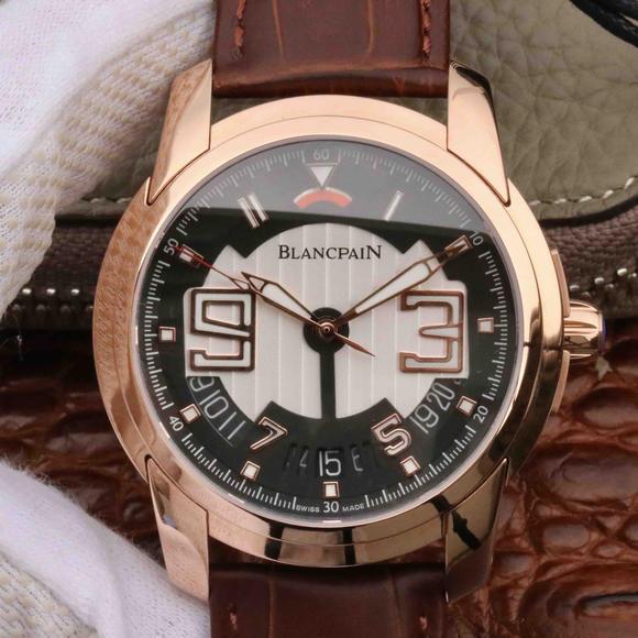 宝珀开创系列8805-3630-53B男士机械手表 顶级复刻工艺