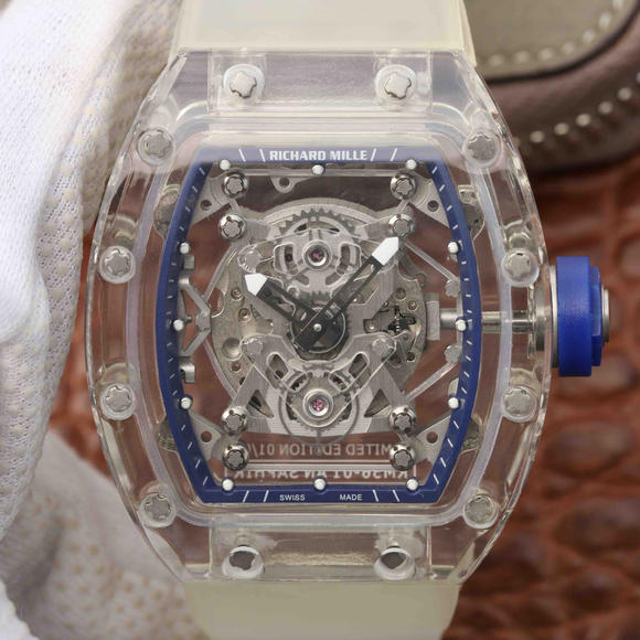 理查德米勒RM 56-01手动机械透明男士手表