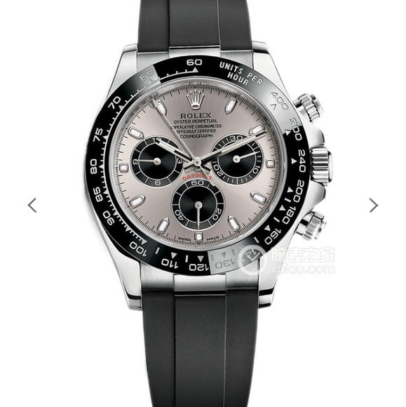 AR厂劳力士迪通拿系列男士机械计时手表 灰面款最高版本 904L