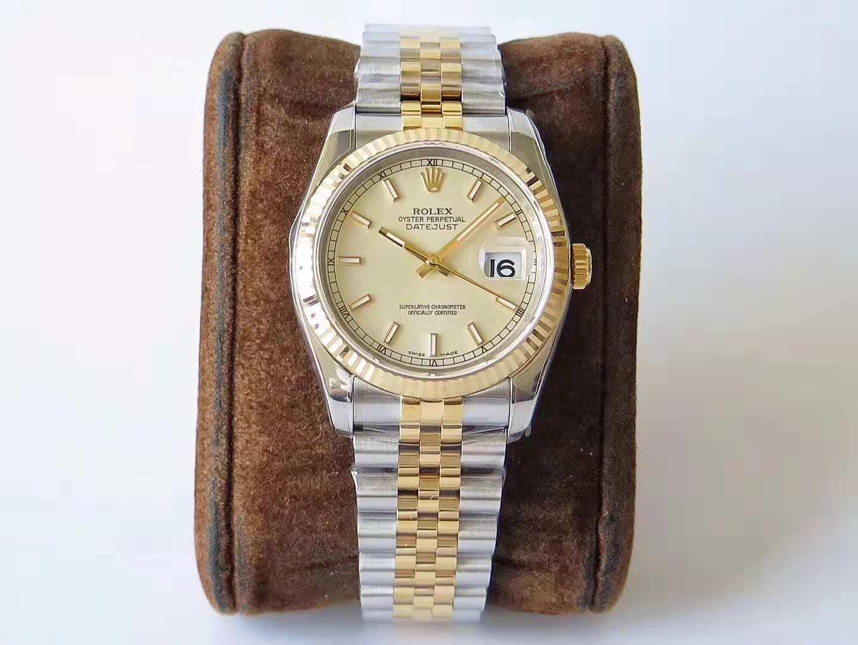 AR劳力士超强神作 904L最强V2升级版日志型36系列腕表 复刻手表