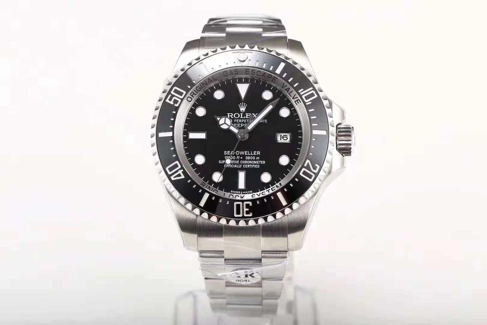 AR厂劳力士潜航者系列黑鬼王男士机械手表 顶级复刻表 最新版本 904l