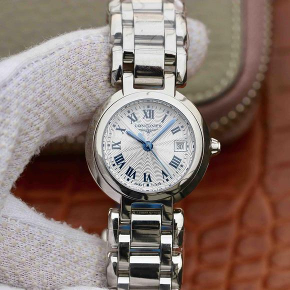 GS浪琴表心月系列 采用浪琴Cal.L250石英机芯 精钢表带女士腕表