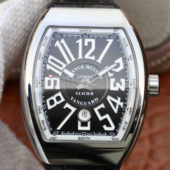 ABF法穆兰Vanguard V45 25周年特别纪念限量款,硅胶表带 男士腕表