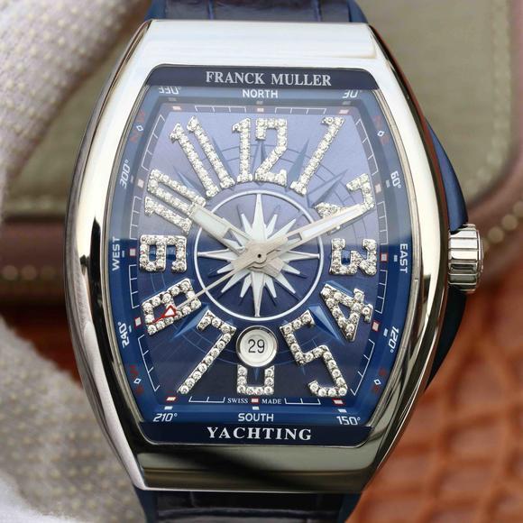 ABF法穆兰Vanguard V45 25周年特别纪念限量款,硅胶表带男士腕表