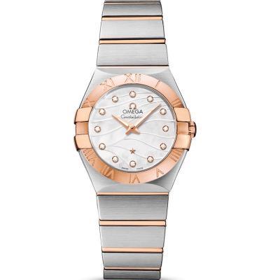 3s厂完美复刻欧米茄星座系列123.20.27.60.55.006女士石英手表