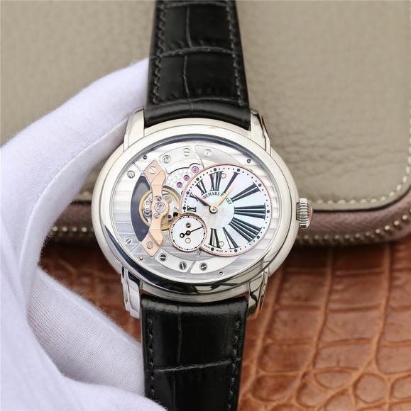 V9爱彼千禧系列15350款 一款上手才知道靓的耐看型手表 V9不惜重金原装开模 男士腕表