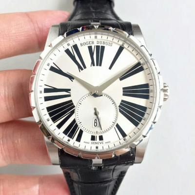 RD工厂罗杰杜彼王者系列男士自动机械手表  独立秒针 白盘