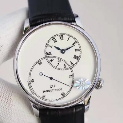 雅克德罗大秒针系列j006030240男士机械腕表