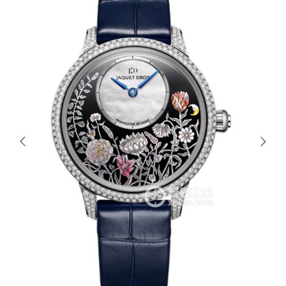 TW雅克德罗艺术工坊系列J005004201女士腕表烧钢蓝针