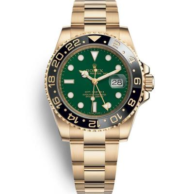 EW劳力士格林尼治型II系列116718-LN-78208 绿盘腕表 全金GMT