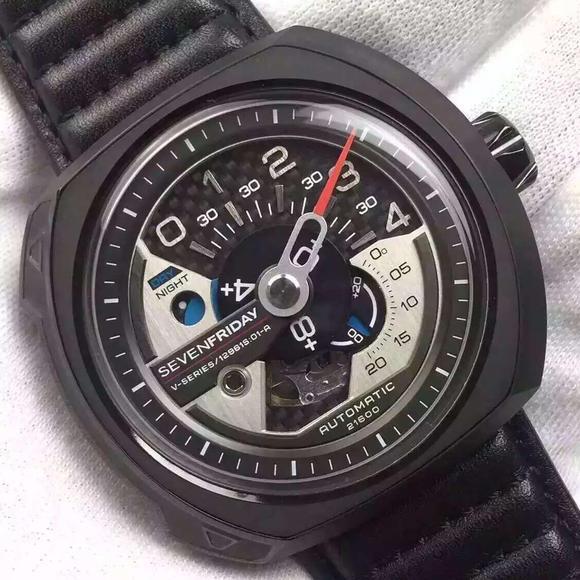 XF厂SEVENFRIDAY七个星期五 新款 男士手表