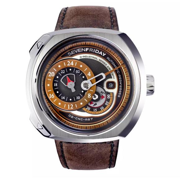 Sevenfriday七个星期五Q2/01三针分离男士机械自动手表