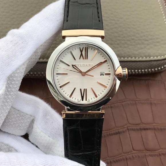 宝格丽创意珠宝系列102571 LU40C6SSPGLD中性男女可戴手表