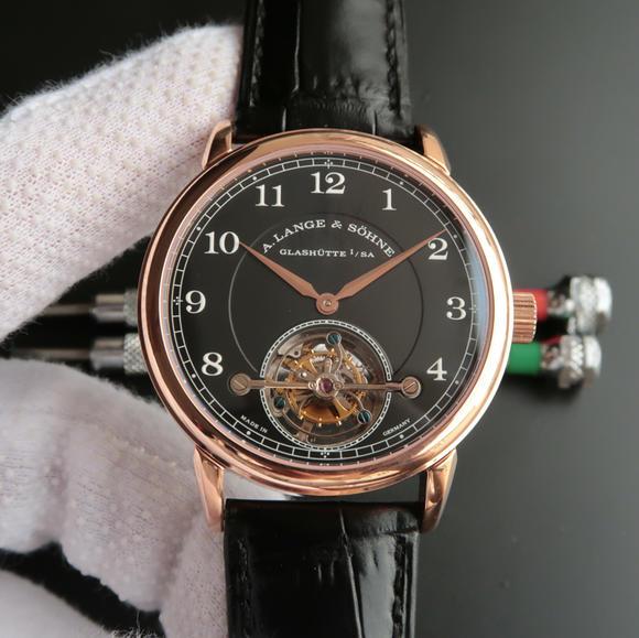 LH朗格1815系列730.32手动陀飞轮皮带手表