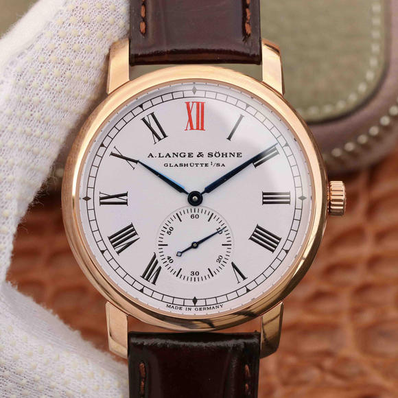 MKS朗格经典1815系列独立小秒盘男士机械手表 玫瑰金顶级复刻表之一