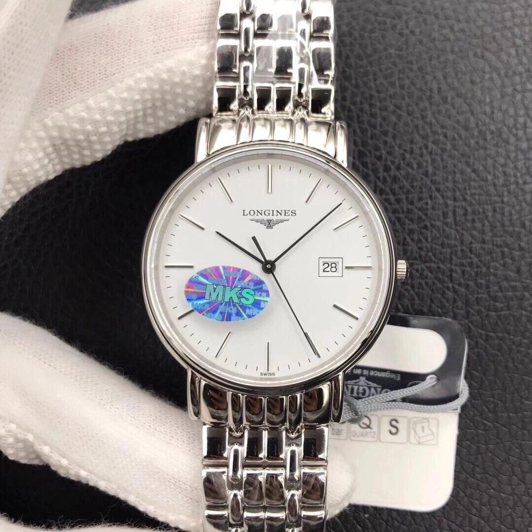 MKS新品 《浪.琴瑰丽石英系列》1 搭载与原版一致的浪琴ETA  283.2专用机芯 男士手表