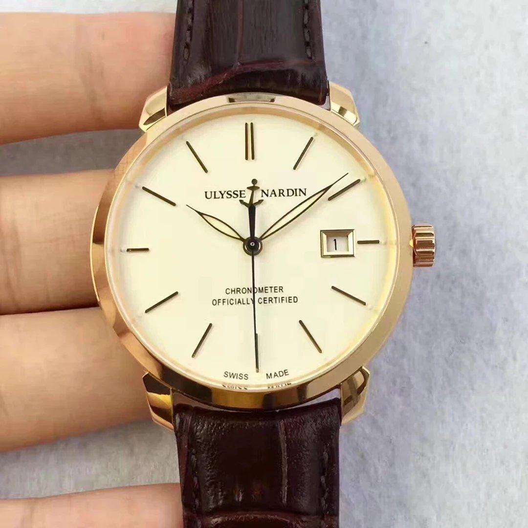 FK复刻工厂再次将雅典经典系列8156-111-2/91升级v2版本 原装一比一 男士机械皮带手表