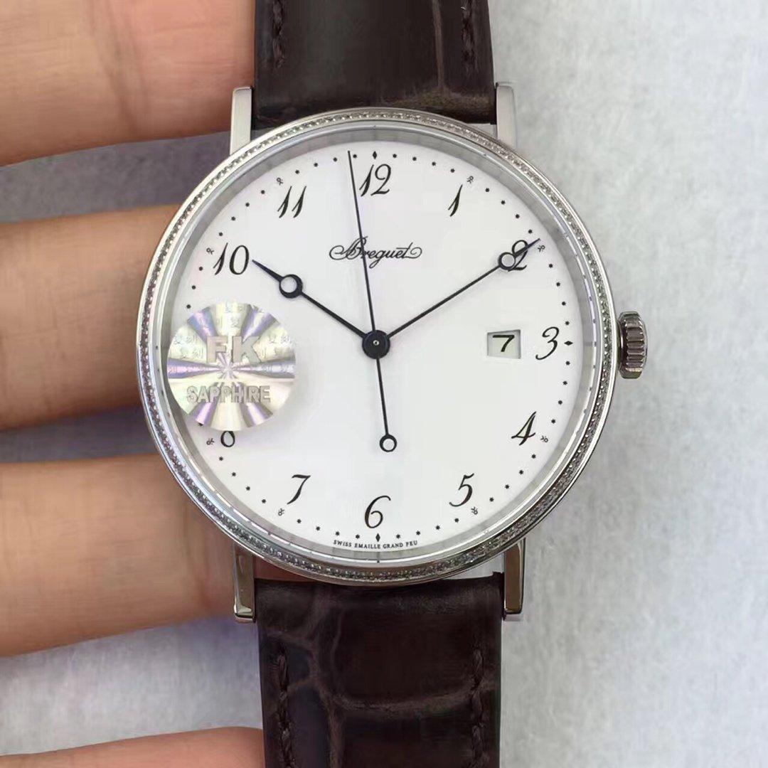 FK复刻工厂新款巨献 宝玑经典5177系列行业唯一正品开模提升1 自动机械机芯 男士腕表
