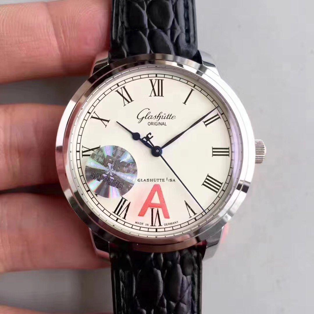 FK工厂全新格拉苏蒂原创参议员39-59V3版FK 表壳厚度尺寸与正品同步(仅10mm)男士腕表