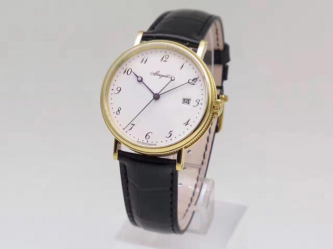 FK厂 宝玑经典5177系列行业唯一正品开模  皮带表 自动机械机芯 男士腕表