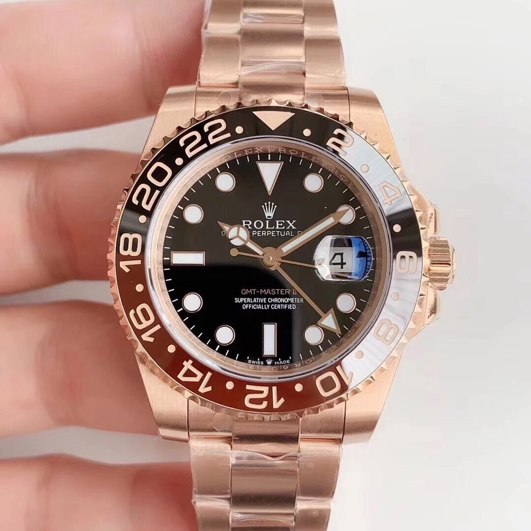 EW延续经典 推出劳力士【GMT-Master II 】是劳力士最热卖的表款之一 原装一比一