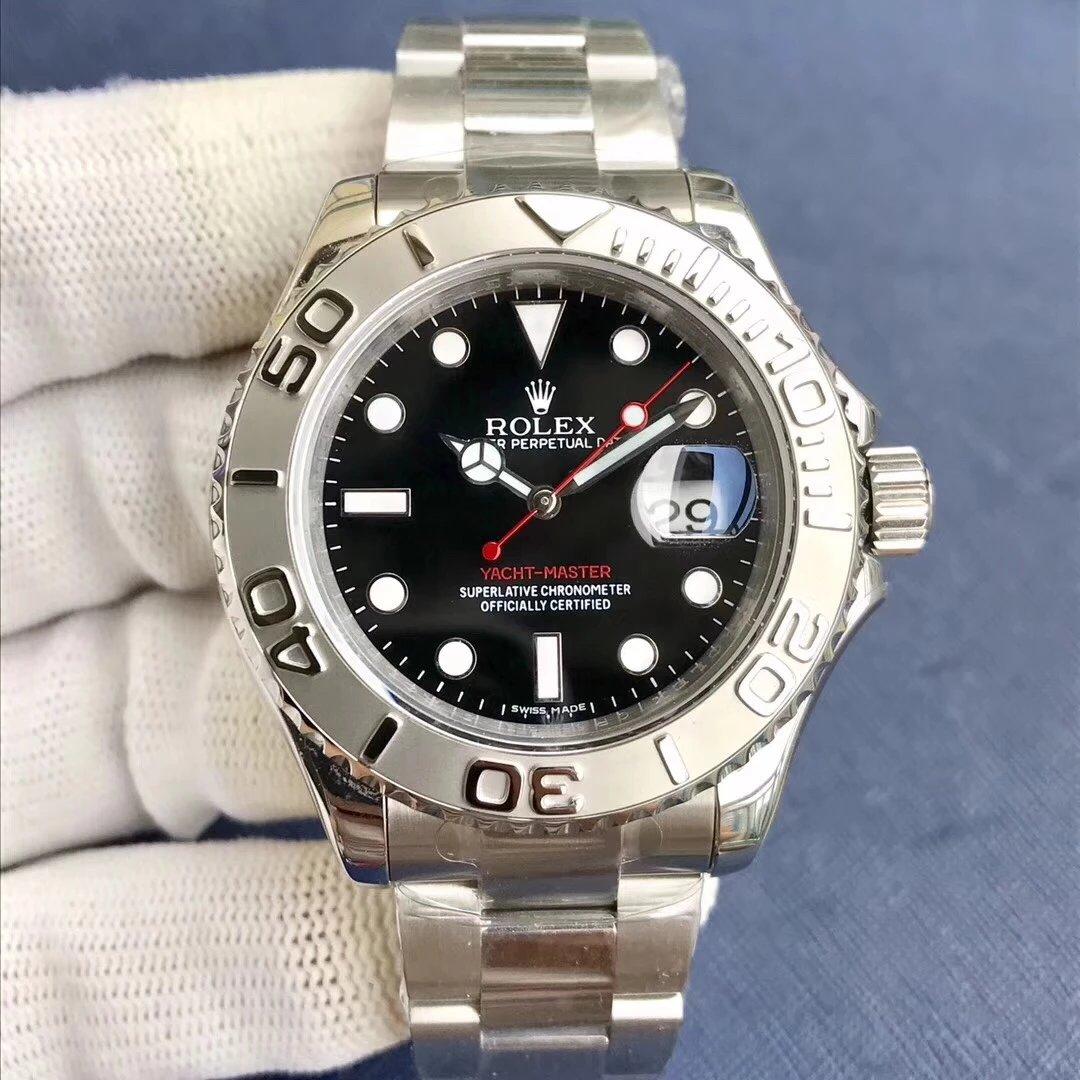 EW厂最高品质劳力士游艇 一比一开模 全自动机械机芯 男士腕表