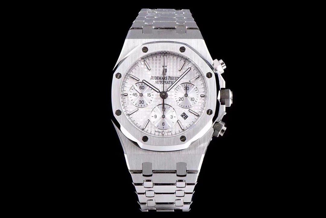 JH升级版AP皇家橡树系列 AISA7750全自动计时机芯 精钢表带 男士手表